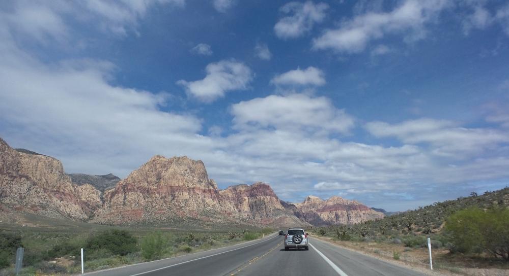 Driving to Red Rock Canyon Las Vegas.jpg