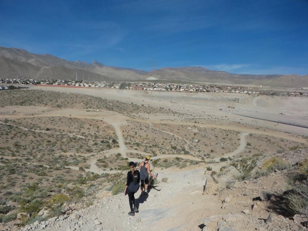 Hiking Lone Mountain Nevada.JPG