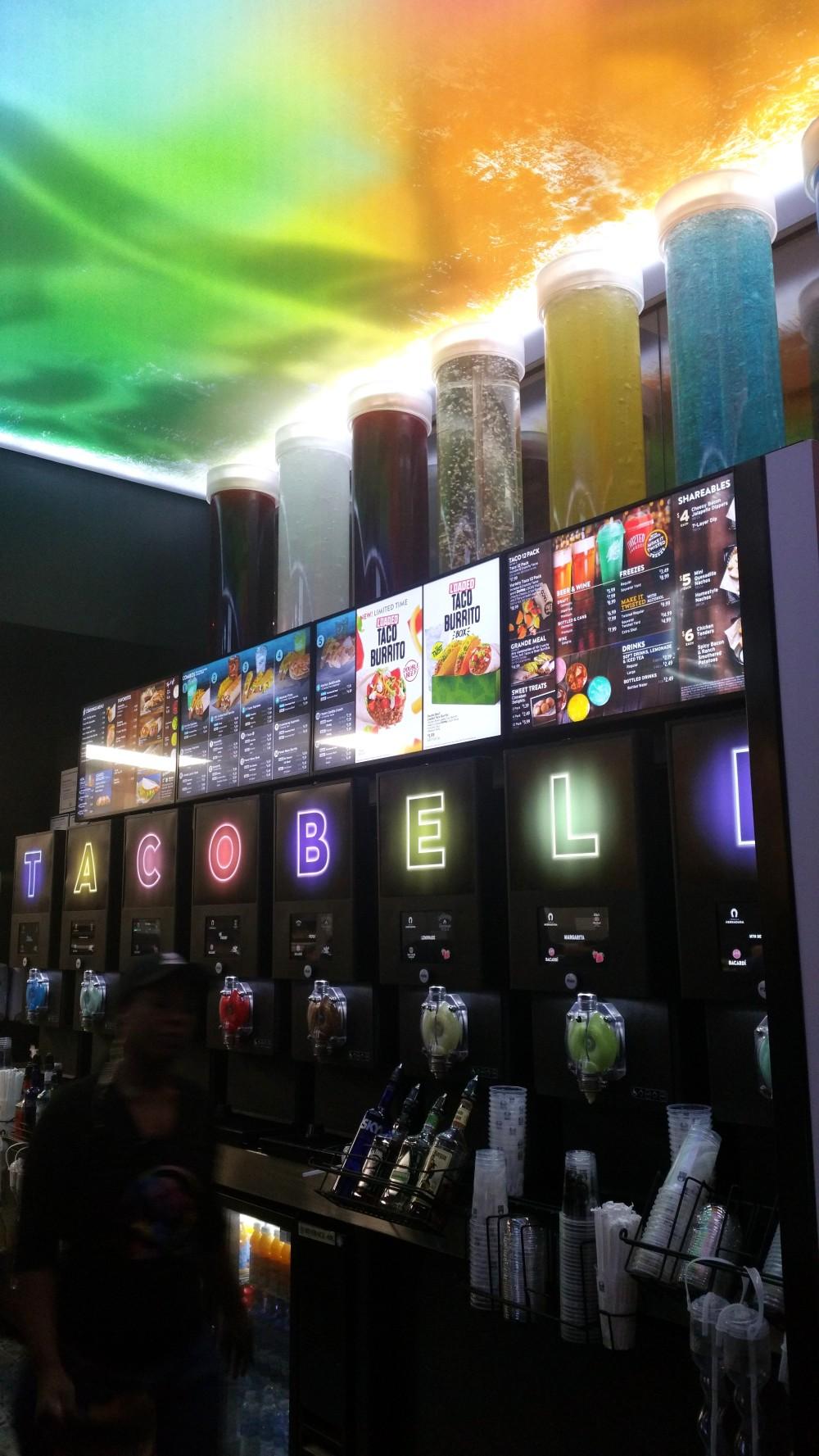 Taco Bell Cantina Vegas